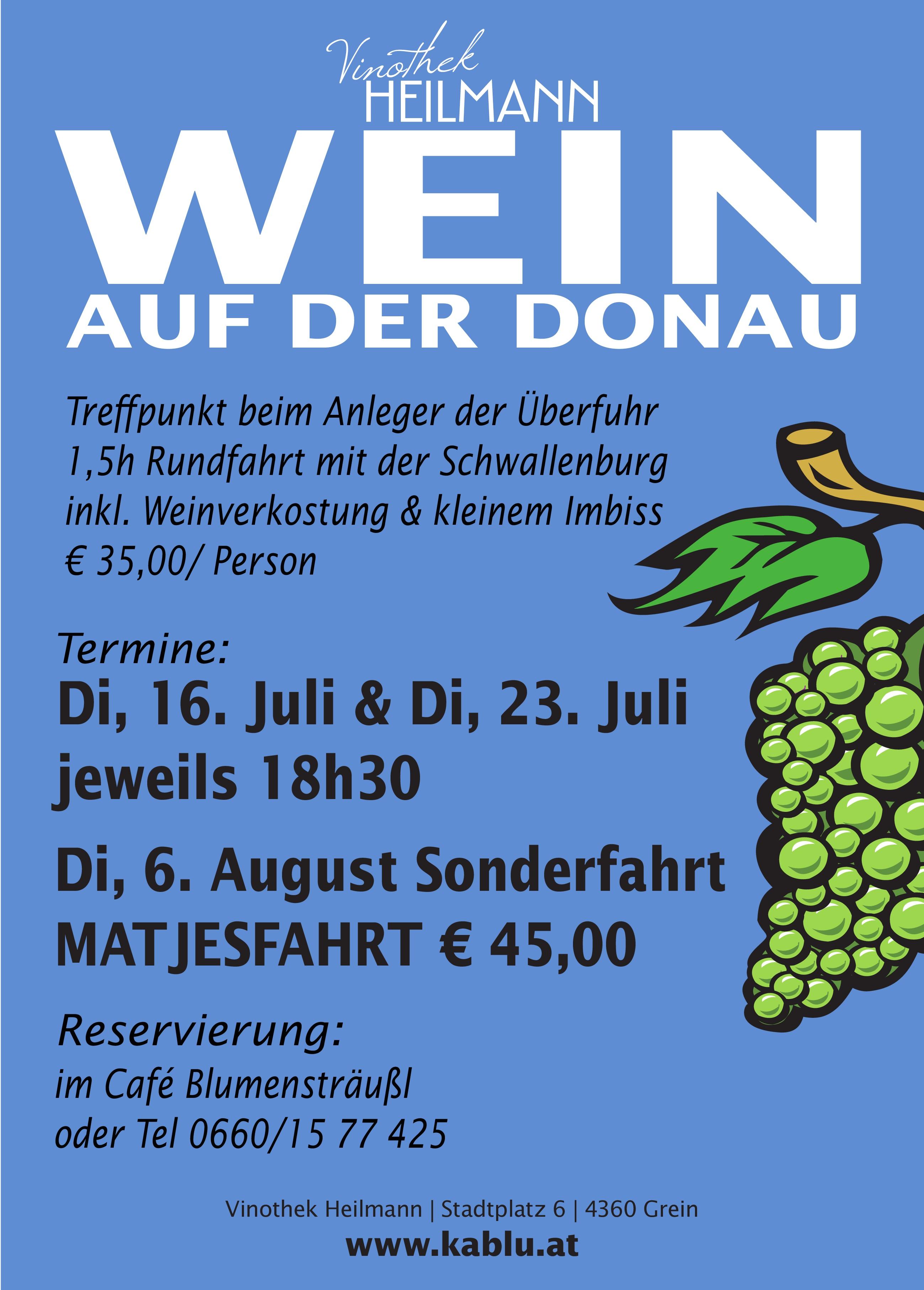 Wein auf der Donau 2019