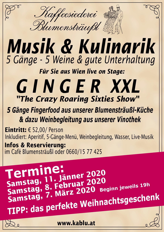 Musik - Kulinarik 2020