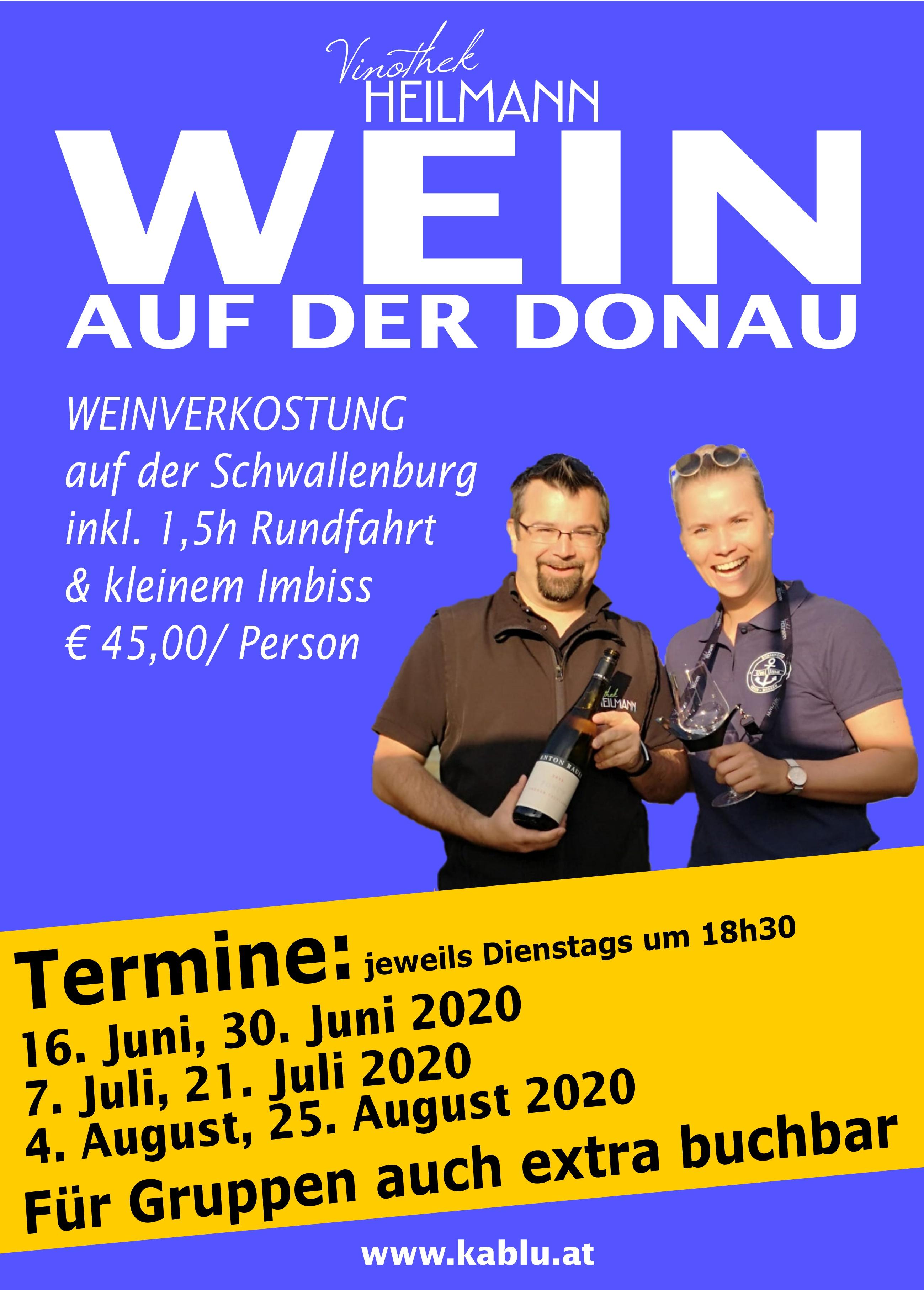 Wein auf der Donau 2020