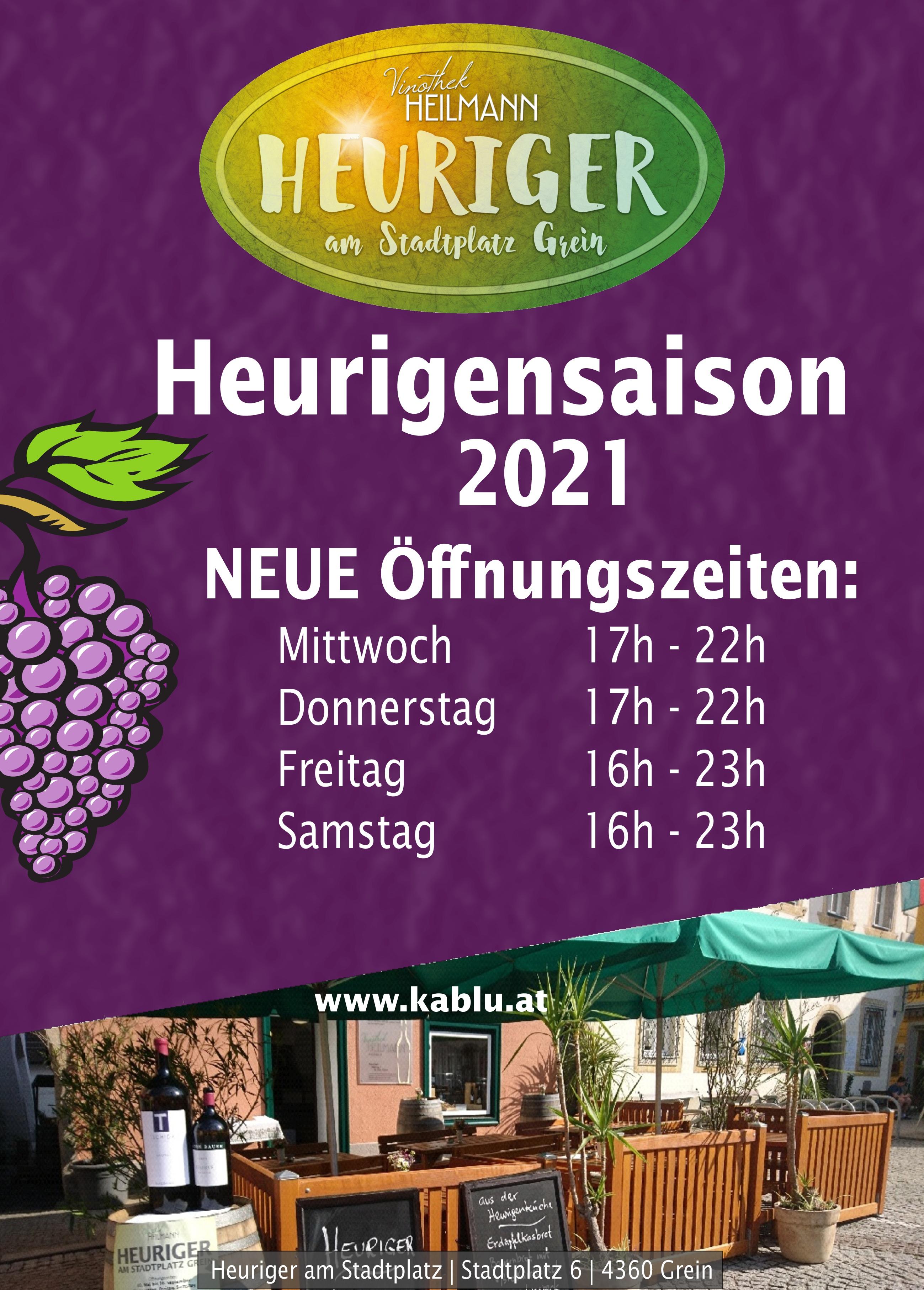 Heurigensaison violett 2021
