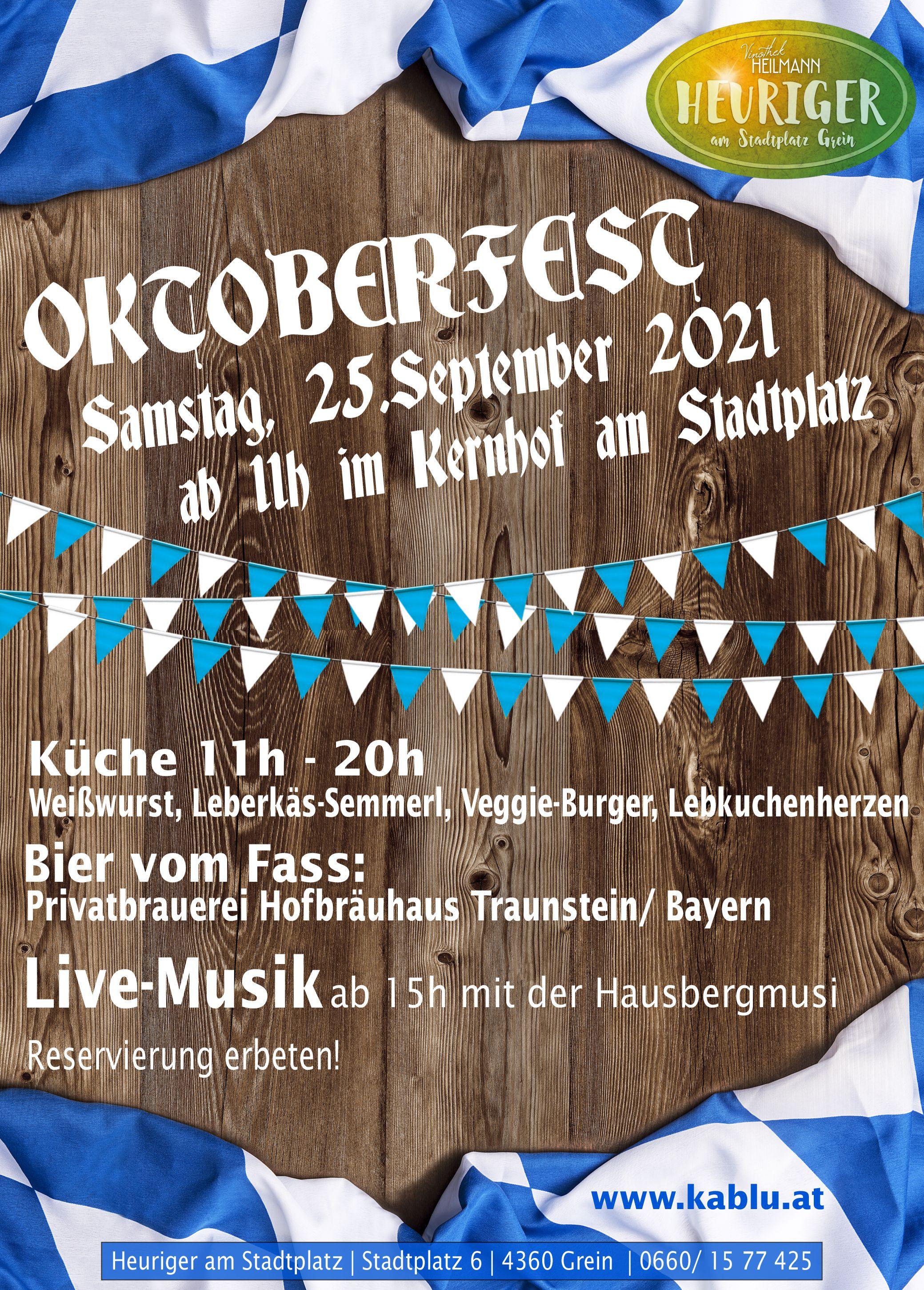 Oktoberfest 2021-09-25
